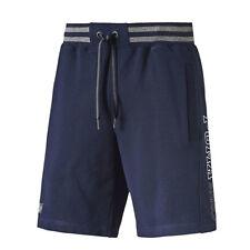 Puma Stile Atletico Sweat Bermuda Pantaloncini da Uomo Regular Navy 836558 06 P4
