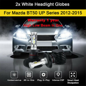 For Mazda BT50 UP Series 2012-2015 Headlight Globes High Low Beam LED Bulb kit B