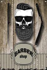 Salon de coiffure signal métallique décoration Signe murale plaques 1042