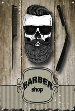 Barber Shop Letrero metal Decor Decoración De Pared Placas 1042
