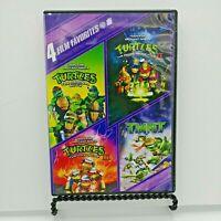 Teenage Mutant Ninja Turtles Collection: 4 Film Favorites (DVD, 2010, 4-Disc Set