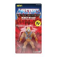 Masters of The Universe Robot He-Man Vintage Wave 2 Action Figure Super 7