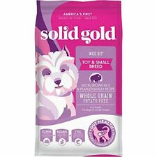 New listing Solid Gold - Wee Bit With Real Bison, Brown Rice & Pearled Barley - Potato Free