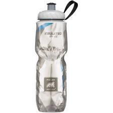 Polar Bottle Sport Insulated 24 oz Water Bottle - Carbon Fiber/Blue