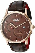 Elysee Priamos 77017B Made in Germany Men's Automatic Dress Watch Gold NEW