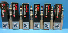 Set (6) Genuine BOSCH 4482 Spark Plugs PLATINUM+4 Upgrade Made in Germany V6