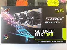 ASUS Rog Strix GTX1060 6GB GDDR5 G-Sync VR GFX Card (STRIX-GTX1060-6G-GAMING)