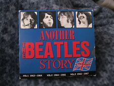 "THE BEATLES CD BOX SET ""ANOTHER THE BEATLES STORY 1962-1967"" JAPAN BOX SET 3CDS"