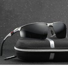 Herren HD Fahren Sonnenbrille Polarisiert UV400 Schutz Sportbrille Pilotenbrille