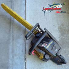 """Used Vintage McCulloch TimerBear 60013424 20"""" Gas Chain Saw Electronic Ignition"""