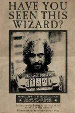 HARRY POTTER - SIRIUS BLACK WANTED POSTER 24x36 - WIZARD 160621
