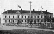 Photo. 1909. Oulu, Finland.  Finnish Classical Lyceum
