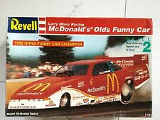 Revell 1/24 Larry Minor Racing Mcdonald'S Olds Funny Car Model Kit # 7353 Nib