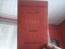 SALON DE PROVENCE  Carte d'état major 1/100000°  1887 TBE