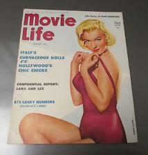 1954 MOVIE LIFE Magazine v.17 #9 VF- Marilyn Monroe Lana Turner