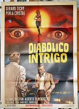 manifesto 2F film UN TIRO POR LA ESPALDA Gérard Tichy Perla Cristal 1967