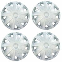 "4x Silver 16"" Inch Deep Dish Van Wheel Trims Hub Caps For Ford Transit"