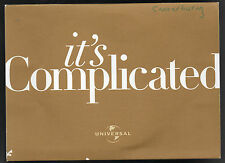 For Your Consideration DVD - 2009 - It's Complicated Meryl Streep Alec Baldwin