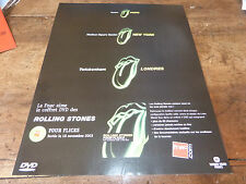 THE ROLLING STONES - ADVERT!!! FOUR FLICKS !!!! 2003 !!!!!!