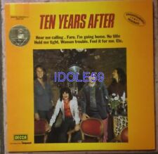 Disques vinyles rock 33 tours ten years after