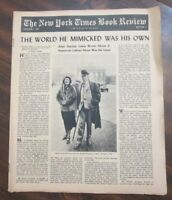 New York Times Book Review October 1, 1961 The World He Mimicked Was His Own