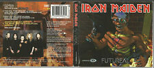 "IRON MAIDEN ""Futureal"" Enhanced Digipack CD 1998 + Poster"