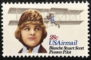 1980 Scott #C99, 28¢, AIRMAIL - BLANCHE STUART SCOTT - Single - MINT NH -