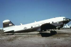 35mm Aircraft Slide US Army MC 45-0972 Douglas C-47 Skytrain 1976 MASDC