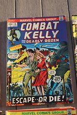 Combat Kelly February #5 1972 fair-good condition