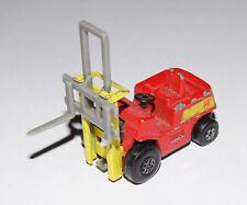 MATCHBOX - SUPERFAST Fork Lift Gabelstabler rot mit grauer Gabel