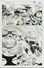 THOR Annual #19 p.42 LOKI Hrinmeer ORIGINAL Comic ART Jerry DeCAIRE Tanghal 1994