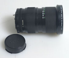 35-105MM 3.5 CANON FD MACRO ZOOM WITH FRONT AND REAR CAPS