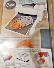 Sizzix Essential Base Plate Ink Pads Alphabet Strip Scrapboking Card Paper Craft