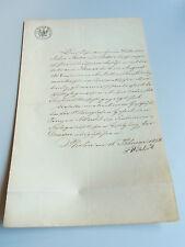 F. Wöhlert'sche Maschinenbau-Anstalt: Zeugnis BERLIN 1856 für Techniker JASTER
