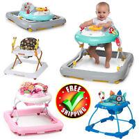 Baby Walker Activity Center Gym Exersaucer Child Toy Toddler Car Disney