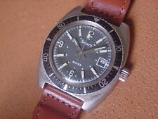 Vintage Sears Men's Diver Wrist Watch ....... Manual Wind .... Swiss