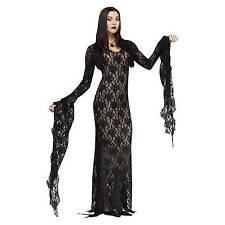 Fun World Diamond Collection Miss Darkness Morticia Elvira Adult Costume