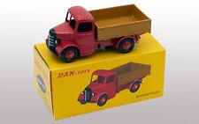 DAN TOYS  Bedford Camion Plateau Rouge / Marron (Série de 500 Exemplaires