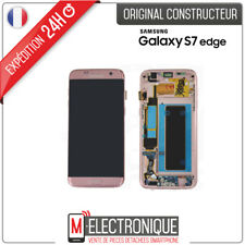 Ecran LCD Rose / Gold Original Samsung Galaxy S7 Edge G935