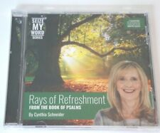 Cynthia Schneider RAYS OF THE REFRESHMENT From The Book Of Psalms NEW Sealed CD