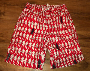 GAP KIDS BOYS SWIM SHORTS TRUNKS SUIT Star Wars red stormtrooper XL 12