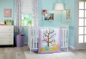 Little Love NoJo Adorable Orchard 4 Pcs Crib Bedding W Bumper - see details 🌟