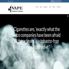 E-CIG VAPING Website Business Make $6.40 A SALE INSTANT TRAFFIC BONUS SYSTEM