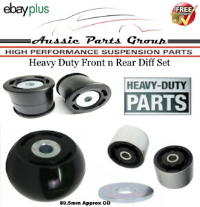 Front n Rear Poly Diff Bush Kit For Ford Territory SY RWD & AWD 10/2006-8/2011