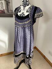 NOA NOA Size 14 Sensitive Silk Folk Dress Floral Patterned Gypsy Tunic Casual
