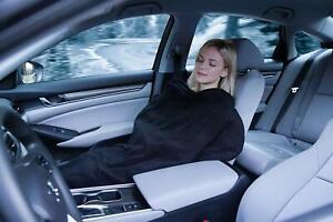 Zento Deals 2 Electric Heated Car 12V Blanket- Polar Fleece Travel Road Blanket