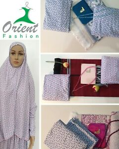 Set Islamische Gebetskleidung Khimar, Hijab Muslim Islam Abaya Burka