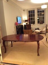 Mahogany Dining Room Table with removable Leaf