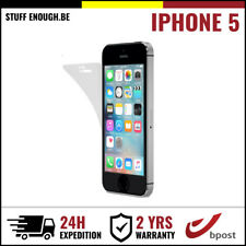 Screen Protector LCD Protecteur Real Strong PET Plastic Foil Film For iPhone 5
