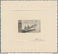 Laos PA28 artist signed die proof. 1957